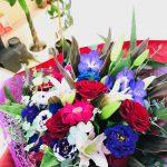 定年退職される先生へ最終講義で渡す花束をご注文頂きました