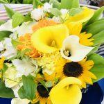退職お祝いの花束を久留米大学病院へお届けしました