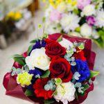 奥様のお誕生日に渡す花束をご主人よりご依頼頂きました。