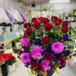 自宅玄関に飾る装花のご注文を頂きました。