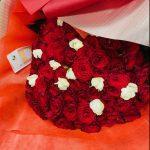 プロポーズ用に108本のバラの花束をご注文頂きました。